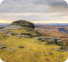 Moorland summit